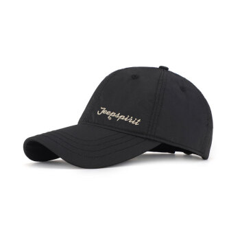 ジープ帽子アウトドアカジュアル帽子ファッション野球帽アメリカJEEP男性式ハンティング帽ファッション69ブラック