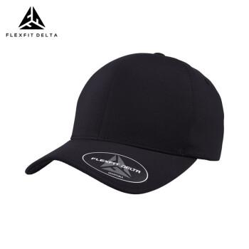 FLEXFIT DELTAハレンチ帽子男陳小春/程星同タイプの野球帽男女フュージョン遮光オールイン恋人ファッションシンプルカジュアルスポーツ黒(調節可能)調節できます。