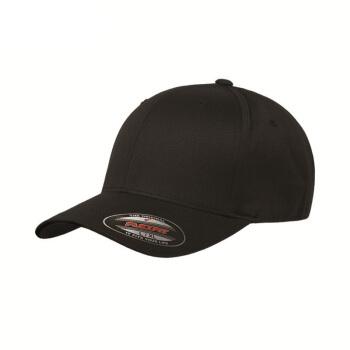 FLEXFIT帽子男性スターファッション日焼け止めハングキャップ女性6277 BLACK/ブラックL/XL(57-60 cm)
