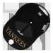 MLB韓国の規格品NYEヤンキースは簡単に百合大标の男女の恋人の野球の帽子のハレンチの帽子の遮光帽をかぶせて黒NYの白標のプノンペンを調節することができます。