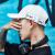 SOMUBAY帽子男韩国版ファンシンフ学生野球帽の个性的なストリート遮光帽ファンシー屋外日烧け防止ハジット青少年はBQM-239の白い字が调节されます。