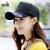 Tsuful帽子女性夏キャップアウトドアスポーツハッチ帽ファッション簡単韓国版遮光帽サンキャップCB87702 A黒