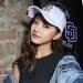 【韓国ダイレクトメール】MLB野球帽若者男女トレンドハンチング帽刺繍遮光帽ホワイトF/フリーサイズ