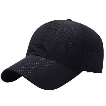 GLOO-STORY野球帽男性韓国版カジュアルマルチ遮光帽子アウトドアスポーツキャップMMZ 814103黒