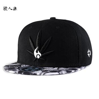 人魚帽子を授ける男の新型の平はヒップホップの帽子の野球の帽子の男に沿って
