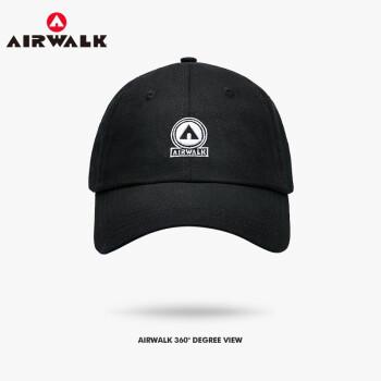Airwalk帽子新品男女帽子ファッションホーンキング帽子男性帽子帽子サンキャップ遮光帽子ファッション野球帽子黒