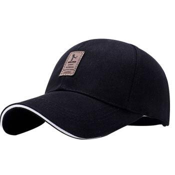 GLOO-STORY野球帽男のアウトドアスポーツマルチレクリエーション遮光帽MMZ 814105黒