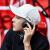 帽子男潮韓国版春夏ハッチ帽の個性的な街頭遮光帽ファンシーハット屋外日焼け止め野球帽1_黒帽の文字は男性に送るベルトは調節できます。