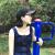 ゴルフGOLF男女兼用アウトドア帽子女性日焼け止め遮光帽カジュアルスポーツファッションアルファベットハングキャップは帽子周りの流れを調節して、黒色に当たります。