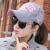 暖欧帽子女夏秋冬韓国版潮運動遮光野球帽屋外日焼け止めハッチMB 0026灰色