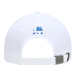 MLB韓国正品LAドッジチームの男女カップルがペアリング野球帽ブームの定番太陽ハッチハング帽白いLAブルーマーカー