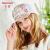 カーメン(Kenmont)km-3451字母メッシュ野球帽女性夏白色刺繍夜間レジャー帽子小花白いハット日焼け止めピンク57 cm調節できます。
