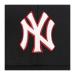 MLB韓国規格品NYEヤンキースクラシック刺繍男女恋人野球帽潮流韓国版太陽キャップハーンキング帽黒エッジNY