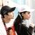 野球帽子男女史春夏韓国版人気女性カジュアルハング帽子帽子アウトドアヒップホップの長尾に黒いベルト1本