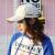 帽子女春夏天ins街拍潮流ハンチン帽女ヒップホップ百合韓国版防〓遮光野球帽5〓カーキの赤い字は調節できます。