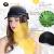 秋の帽子の女性の春のイギリスの野球帽の屋外日烧け防止ファンフ