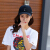 美倫格ファッション野球帽男女夏カジュアルハーン帽カジュアル遮光帽子ヒップホップ三環鉄塔黒