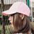 DUSENNA帽子男女野球帽韓国版潮ハング帽アウトドアライクおしゃれな恋人遮光キャップピンク