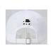 MLBヤンキースの子供野球帽標準小さい男の子と女の子の共通の遮光帽ハング帽は白の黒基準Ny 2(49 CM-51 CM)を調節できます。