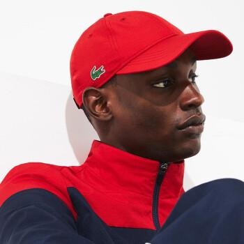 LACOTEフランスのクロコダイル男女同項19春夏新品純色がカジュアル帽子に似合うRK 2447 M 2440赤いTU