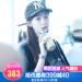 【韓国直送】MLB野球帽の呉宣儀と同じ洋基チームの男女が同じレジャー帽子の流行を示す刺繍プリント帽黒F/均一サイズ