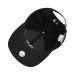MLB韓国の規格品NYEヤンキースのスワロフスキーの水ドリルの男女の恋人の曲がった軒の野球の帽子の潮流の百が太陽の帽子のハンチンのハングの帽子の黒色のドリルの金の標のNYに乗ります。