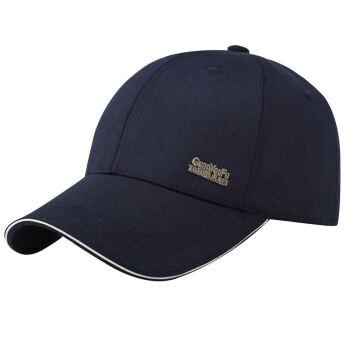 GLOO-STORY野球帽男性屋外スポーツ遮光帽韓国版ブロードバンドハットMMZ 814107ディープブルー