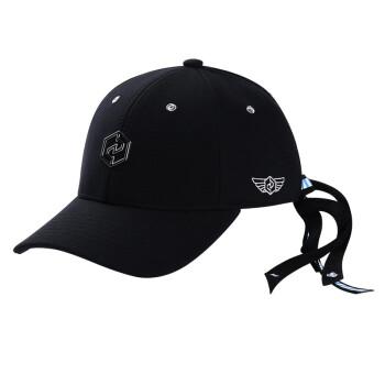 doodays男女ファッションファッションのトレンド曲げ野球帽のカジュアルな遮光帽子ファッションヒップホップDM 190259黒帽子の青いリボン