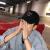 帽子男女春夏野球帽韓国版ファッションリーダー百合遮光帽子白黒レジャー旅行日焼け止めハッチM 8018-黒い双木が調節できます。